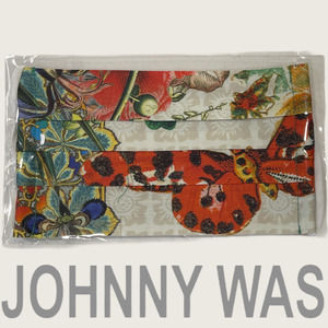🆕 Johnny Was Sateen Face Mask, butterfly
